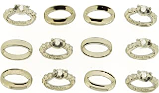 wedding ring embellishments for cards