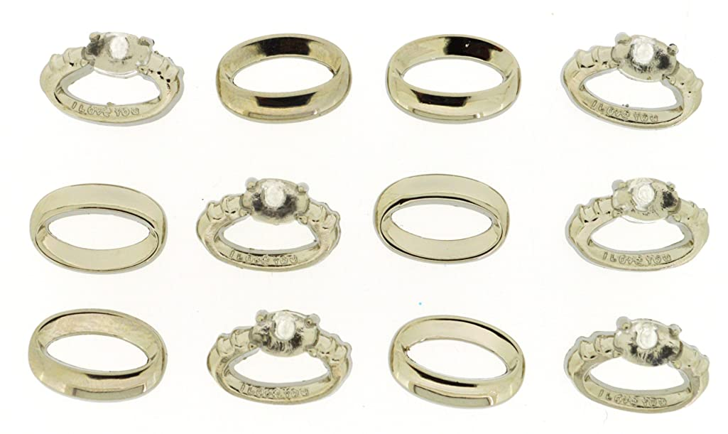 Dress It Up 4209 Wedding Rings Embellishment for Crafts