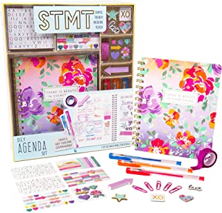 STMT DIY Agenda Set by Horizon Group Usa, Decorate Your Ultimate Planner/Organizer/Diary with Debossed & Regular Stickers,...