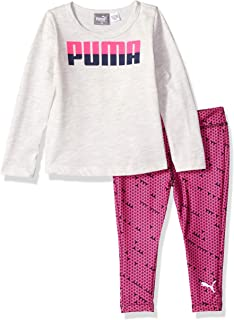 PUMA Baby Girls Top and Legging Set