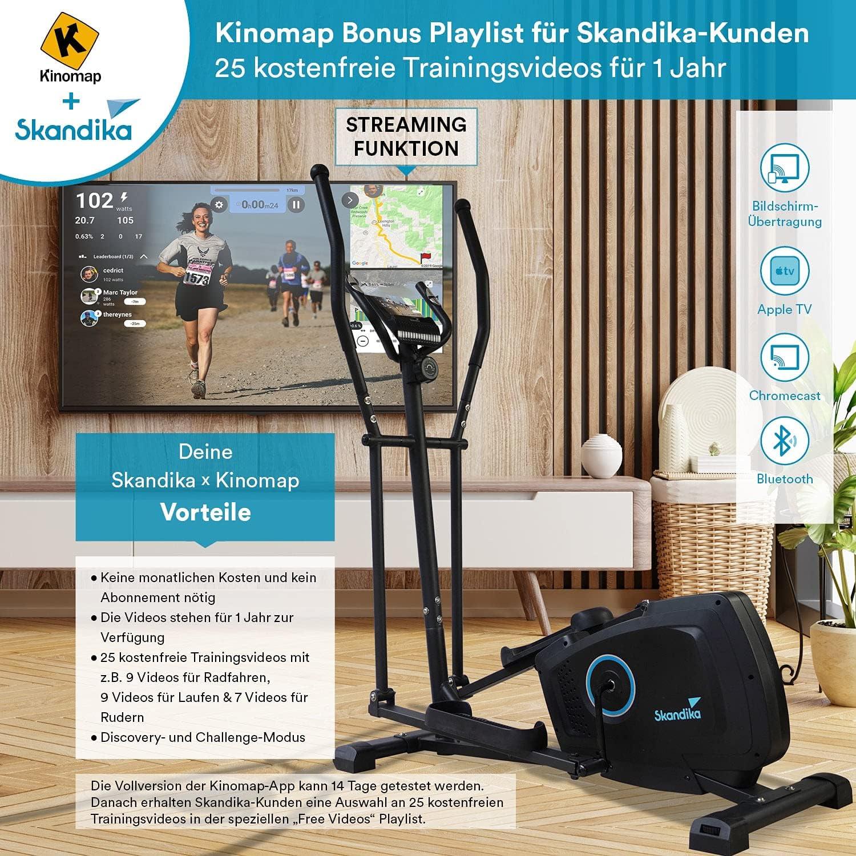 Skandika Vidar Crosstrainer Kinomap App