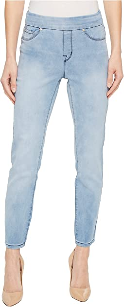 "Tribal Pull-On Ankle 28"" Dream Jeans in Sky"