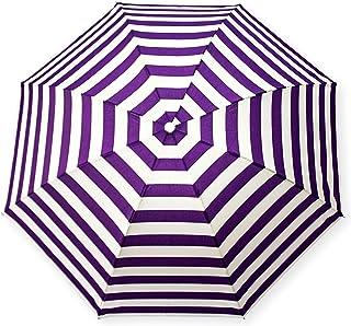 Desicult 3 Fold Stripes Violet Umbrella