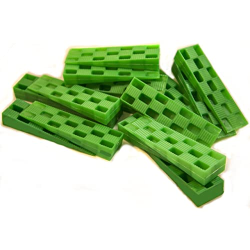 """Glazelock 5-1//8/"""" Overall Long Stackable Shims Case of 1,008"""