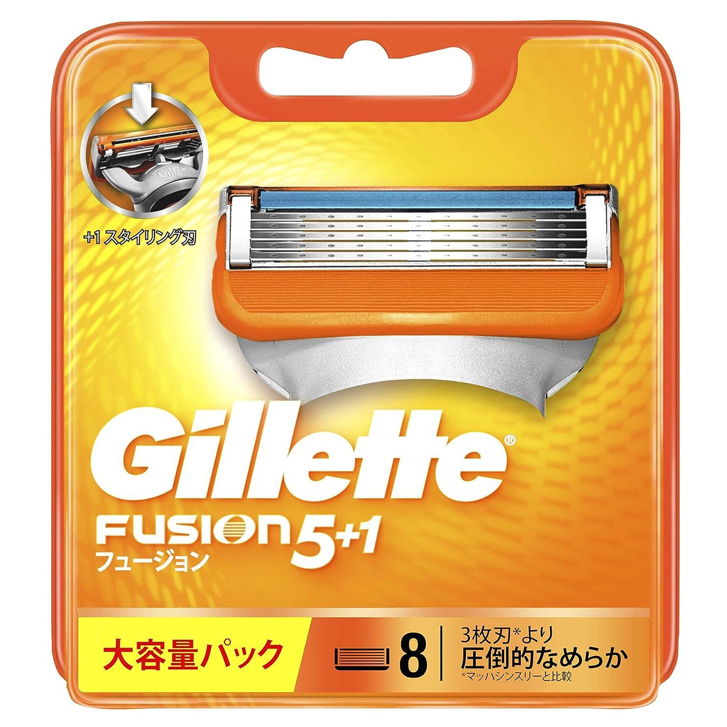 武装解除機動チャンピオンジレット フュージョン5+1 マニュアル 髭剃り 替刃 8コ入
