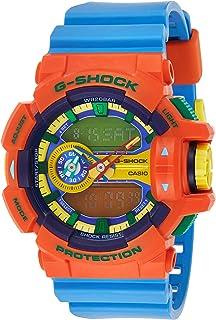 Casio Mens Quartz Watch, Analog-Digital Display and Resin Strap