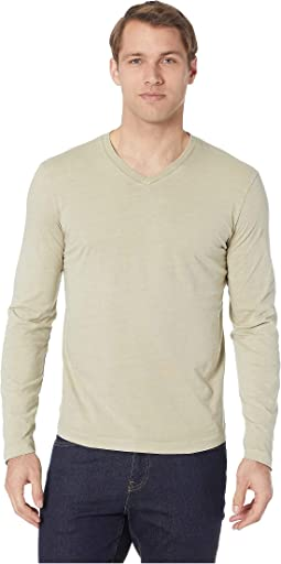 Cardiff Long Sleeve Jersey V-Neck Tee
