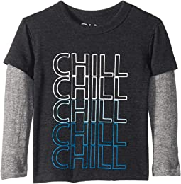 Super Soft Chill Twofer Long Sleeve Tee (Toddler/Little Kids)