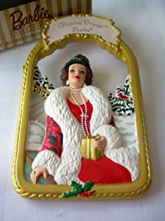 1997 Hallmark Ornament Holiday Voyage Barbie