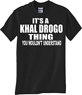 STUFF WITH ATTITUDE KHAL Drogo Thing Black T Shirt