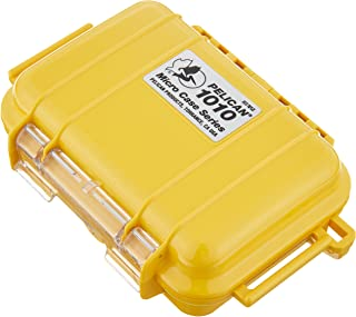 Pelican Waterproof Case 1010 Micro Case - for GoPro, camera, and more (Yellow)