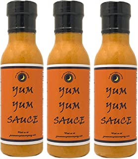 Premium | YUM YUM Sauce | 3 Pack | Low Cholesterol | Crafted in Small Batches with Farm Fresh Herbs for Premium Flavor and Zest