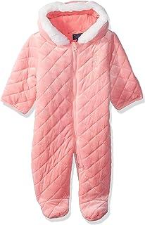 U.S. Polo Assn. Baby Girls Quilted Terry Fleece Pram