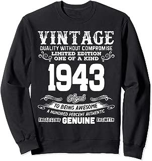 Funny 76th Birthday Shirts 76 Years Old Gifts Sweatshirt