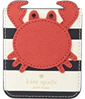 Kate Spade New York - Crab Sticker Pocket