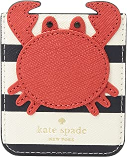 Kate Spade New York Crab Sticker Pocket