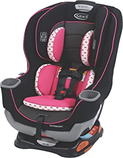 Graco Extend2Fit Convertible Car Seat | Ride Rear Facing Longer with Extend2Fit, Kenzie