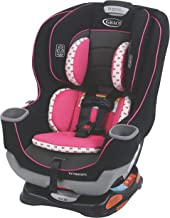 graco hot pink and black car seat