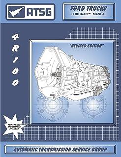 ATSG 4R100 Manual de reparo de transmissão Ford (4R100 Kit de reconstrução de transmissão 4R100 Panela de transmissão - Me...