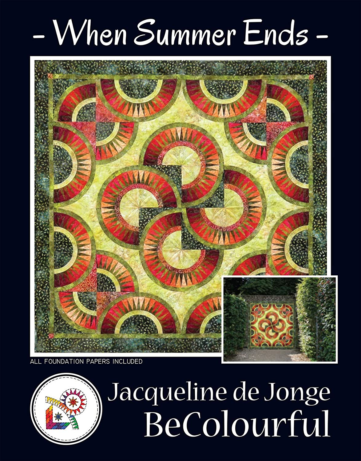 When Summer Ends Paper Pieced Quilt Jon Pattern Jacqueline de Max 85% OFF All stores are sold by
