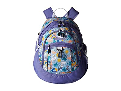 High Sierra Fatboy Backpack (Pool Party/Lavender/White) Backpack Bags