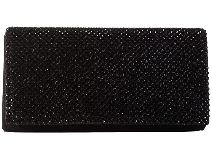 7593d60800 Jessica McClintock Luisa Flap Clutch at Zappos.com