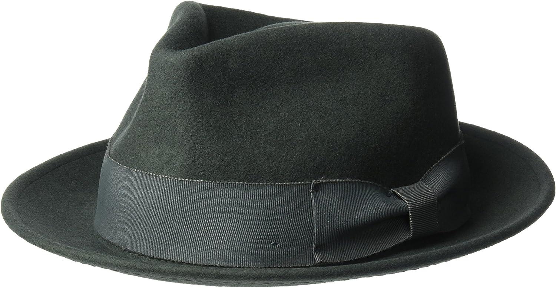 Henschel Men's 100% Wool Felt Contrasting Gentleman 5 ☆ popular OFFer Grosgra with