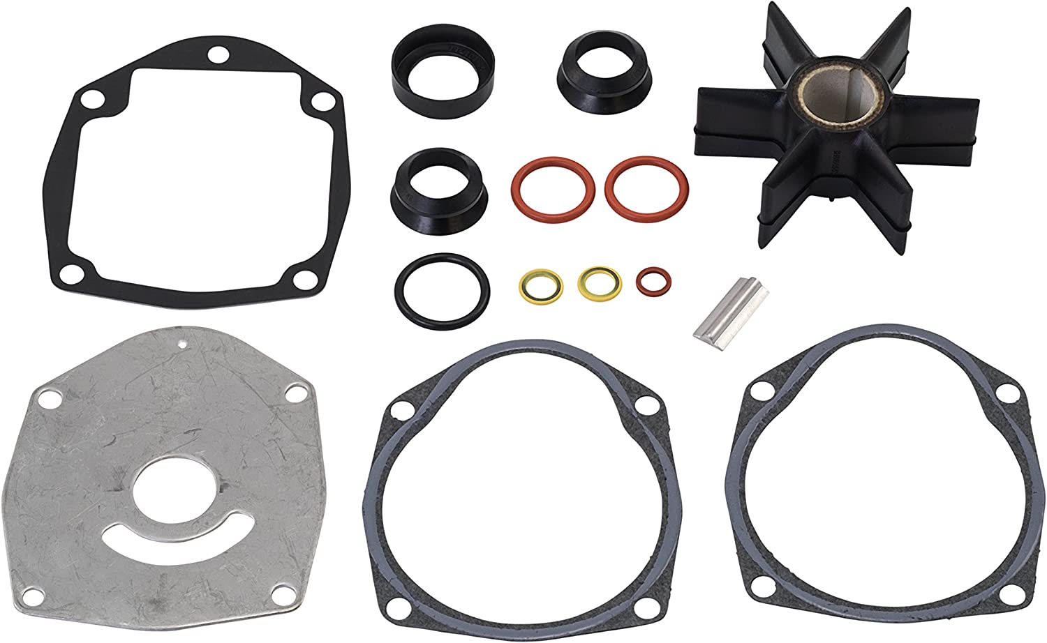 Quicksilver 8M0100526 Water Pump Repair OFFicial mail order and Kit - Marine Same day shipping Mercury