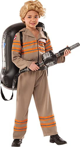 Ghostbuster 3 Deluxe (The Movie) - Kids Unisex Costume 8 - 10 years