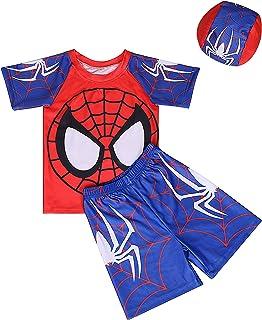 Toddler Boys Two Piece Swimsuit Kids Swim Set Short...