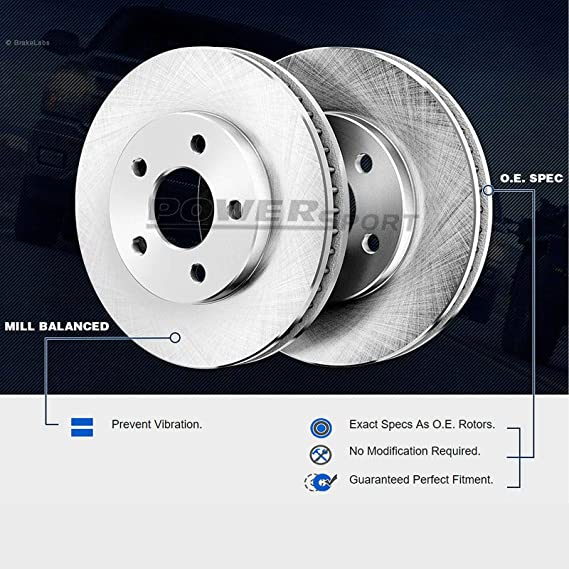Front Brake Pad and Rotor Kit K837TK for Versa Micra Note 2014 2012 2013 2015