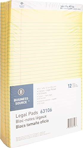para barato Business Source - Pad,Micro-Perforated,Wide Rld,50 Sheets,8-1 2 x14 ,Canary, ,Canary, ,Canary, Sold as 1 Dozen, BSN63106  orden ahora disfrutar de gran descuento