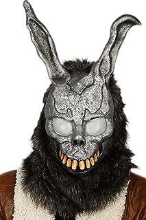 Frank Rabbit Mask Bunny Fullhead Cosplay Props for Adult Halloween Grey