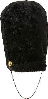 Beistle Royal Guard Bearskin Hat, Black/Gold