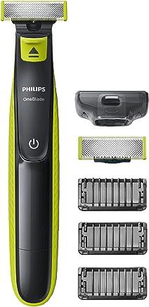 Philips QP2520/30 OneBlade - Recortador de barba, recorta, perfila y afeita, recargable