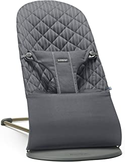 BABYBJORN Bouncer Bliss, Gray/Pinstripe, Cotton - coolthings.us