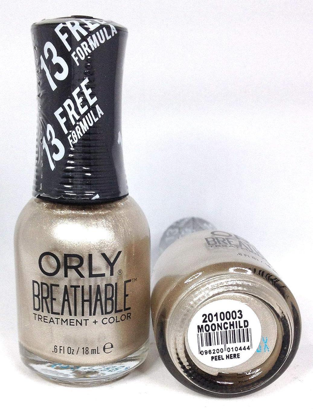 酔ったためらう酔ったORLY Breathable Lacquer - Treatment+Color - Moonchild - 18 mL / 0.6 oz
