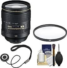 Nikon 24-120mm f/4 G VR AF-S ED Zoom-Nikkor Lens + Filter Kit (Renewed)