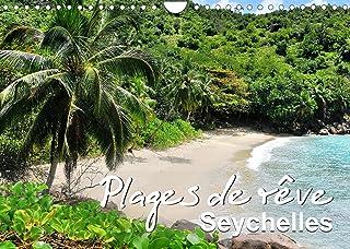 Plages de rêve Seychelles (Calendrier mural 2022 DIN A4 horizontal): Les plus belles plages des îles Mahé, Praslin et La D...