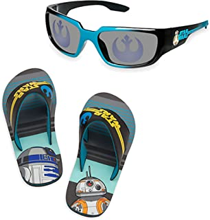 Store Star Wars R2 D2 BB 8 Flip Flops and Sunglasses Set