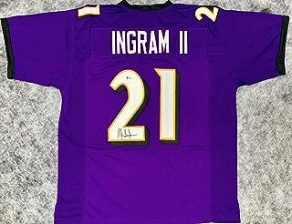 Mark Ingram Signed Jersey - Auto Beckett BAS - Beckett Authentication - Autographed NFL Jerseys