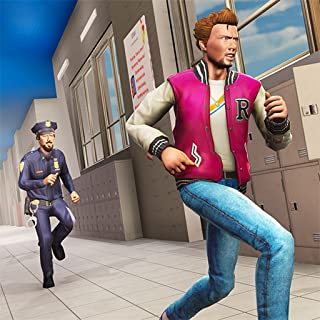 Bully Of Highschool Escape  : Crime City Gangster Fight Game 3D