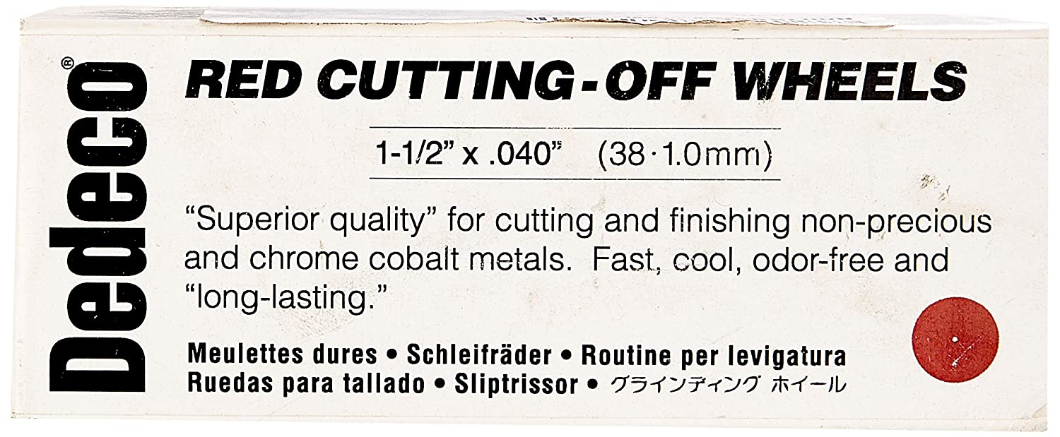 ! Super beauty product restock quality top! Dedeco 7024 Cutting-Off Ranking TOP17 Wheels 1-1 2