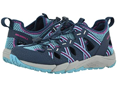 Merrell Kids Hydro Choprock Sieve (Toddler/Little Kid/Big Kid) (Navy/Turquoise) Girls Shoes