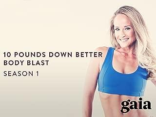 Gaiam: Jessica Smith 10lbs Down - Better Body Blast
