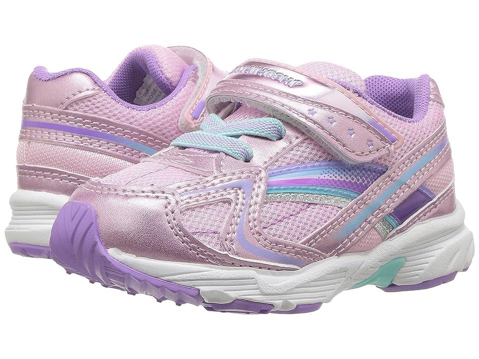 Tsukihoshi Kids Glitz (Toddler/Little Kid) (Rose/Lavender) Girls Shoes