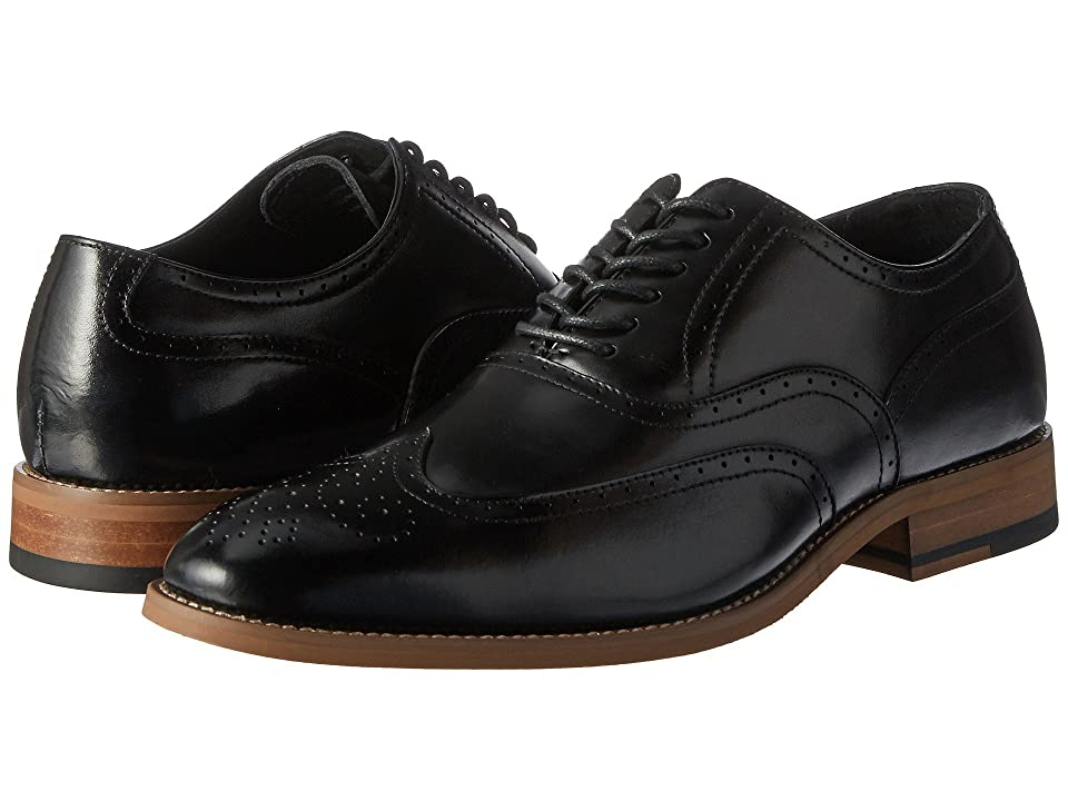 Stacy Adams Dunbar Wingtip Oxford (Black) Men