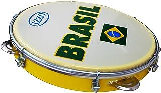 "Izzo Percussion 6503EX 10 ""Pandeiro - سر طبل پرچم برزیل هولوگرافی"