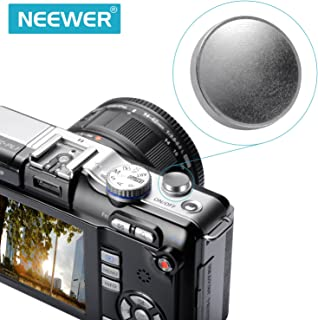 Neewer 11mm Diameter Silver Concave Metal Soft Shutter Release Button Compatible with Leica M Rangefinder Cameras M3 M6 MP M8 M9 M9P Nikon Canon Hasselblad Olympus Minolta FUJIX100 SLR Cameras