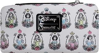 x Disney Princess Portraits Allover-Print Wallet